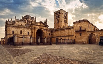 Zamora Cathedral, Roman Catholic church, Zamora, Spain, Europe