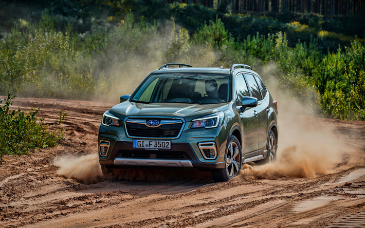 Subaru Forester Off Road >> Download Wallpapers Subaru Forester 4k Dust 2019 Cars