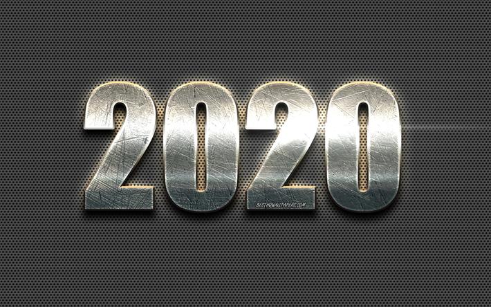 Best Metal 2020.Download Wallpapers 2020 Metal Background Steel Letters