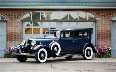 Lincoln Model KB, 1932, 5-passenger Sedan, retro cars, american classic cars, Lincoln