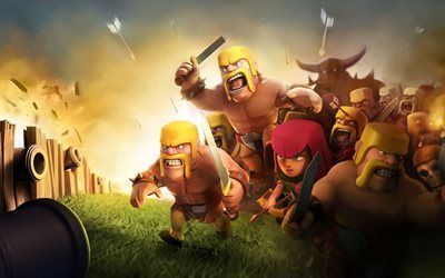 Clash of Clans, characters, strategy, Vikings