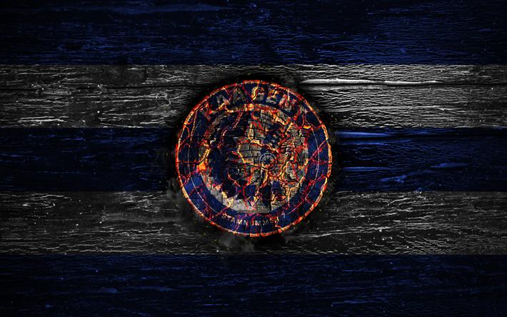 Descargar Fondos De Pantalla Gent Fc El Fuego Logotipo