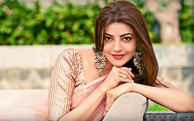 Kajal Aggarwal, 2019, Bollywood, indian celebrity, portrait, indian actress, beauty, Kajal Aggarwal photoshoot