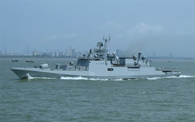 INS Tarkash, F50, Indian frigate, Indian Navy, Indian warship, Talwar-class frigate, frigates
