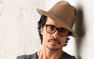 Darshan Kumaar, 4k, portrait, Indian actor, brown mans cap, Indian celebrities