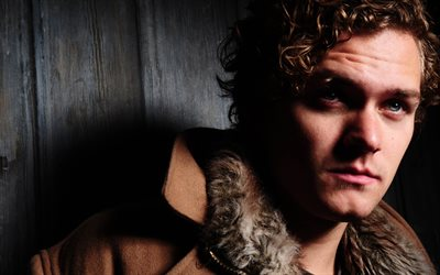 Finn Jones, 4k, English actor, portrait, British celebrities