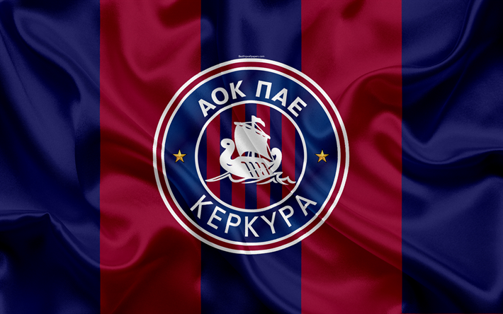 Download wallpapers Kerkyra FC, 4k, Greek football club ...