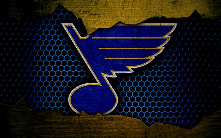 Download wallpapers St Louis Blues, 4k