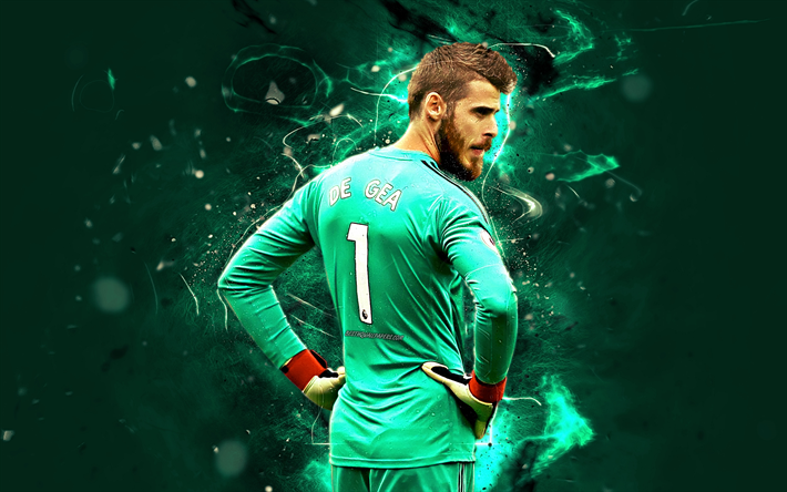 Download Wallpapers Manchester United FC, David De Gea