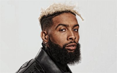 Odell Beckham Jr, OBJ, portrait, photo shoot, american football player, Cleveland Browns