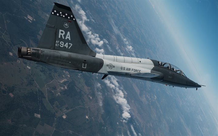 Northrop T-38 Talon, supersonic training jet, T-38 Talon, american training plane, United States Air Force, USA