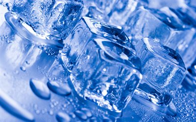 4k, ice cubes texture, macro, background with ice cubes, close-up, ice cubes, backrounds with ice, ice backgrounds, ice textures