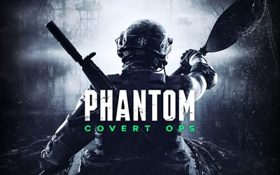 Phantom Covert Ops, 4k, poster, 2019 games, E3 2019