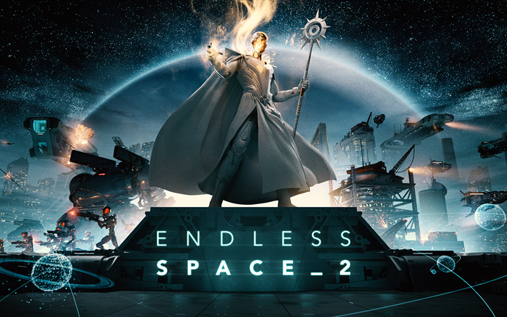 download wallpapers endless space 2 art 2017 games poster strategy for desktop free. Black Bedroom Furniture Sets. Home Design Ideas
