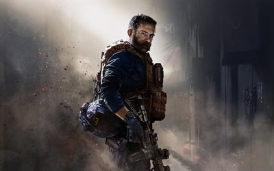 Call of Duty Modern Warfare, 2019, 4k, promo, poster, characters, new games, Call of Duty