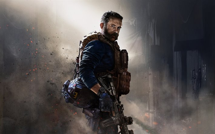 Download Wallpapers Call Of Duty Modern Warfare 2019 4k Promo