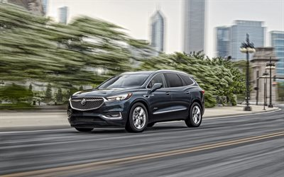 2021, Buick Enclave, front view, exterior, gray SUV, new gray Enclave, american cars, Buick