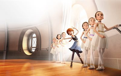 Ballerina, 5K, 2016 movie, 3D-animation