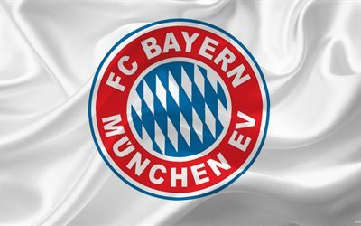 Bayern Munich, 4k, Soccer, Germany, Bayern emblem, Football