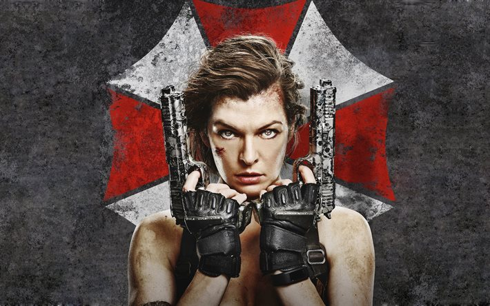 Download wallpapers resident evil the final chapter 2016 movie 4k action actress milla - Resident evil final chapter 4k ...