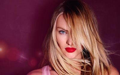 candice swanepoel, supermodels, schöne frau, make-up, blonde
