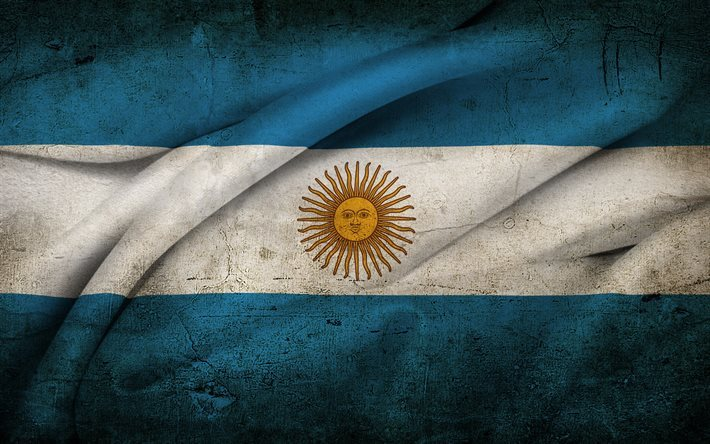 Flag of Argentina, South America, Argentina, Argentine flag
