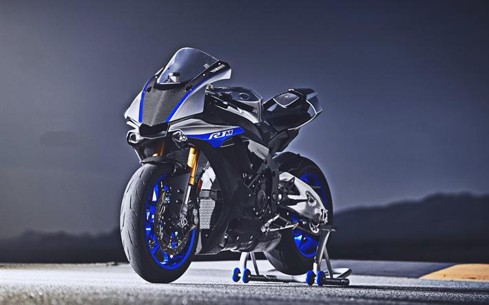 Download Imagens 4k Yamaha R1 Pista De Rolamento 2019 Motos Sbk