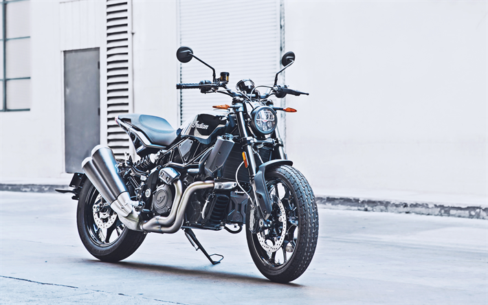 Download Wallpapers Indian Ftr 1200 2019 4k Front View