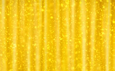 Yellow bright texture, yellow glittering background, lights, light bulbs, yellow creative background