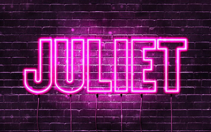 Download wallpapers Juliet, 4k, wallpapers with names ...