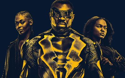 Black Lightning, poster, 2018 movie, superheroes, TV Series