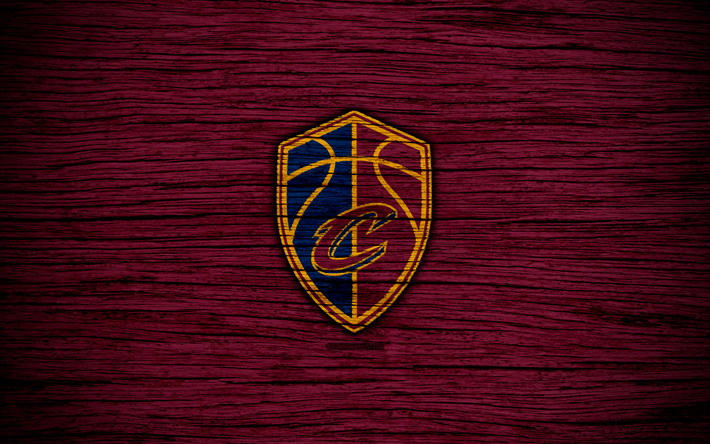 4k Cleveland Cavaliers NBA Wooden Texture Basketball Eastern Conference USA
