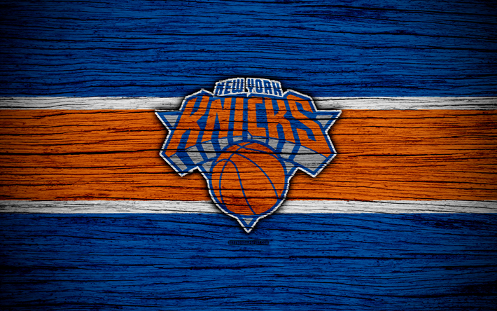 4k New York Knicks NBA Wooden Texture Basketball Eastern Conference