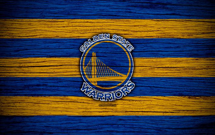 4k Golden State Warriors NBA Wooden Texture Basketball Western Conference