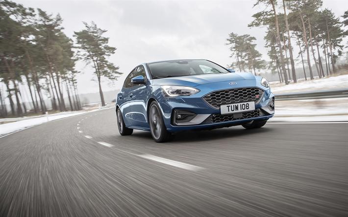 Download Wallpapers Ford Focus St 2020 Sports Hatchback