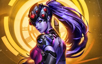 Widowmaker, 4k, Overwatch characters, 2020 games, shooter, Overwatch, Widowmaker Overwatch