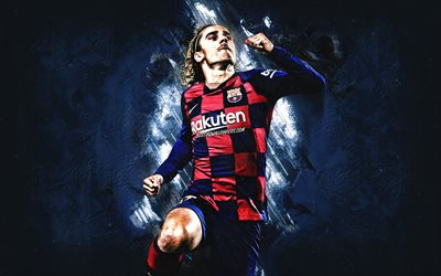 Antoine Griezmann, French football player, FC Barcelona, portrait, Champions League, La Liga, soccer, world football stars