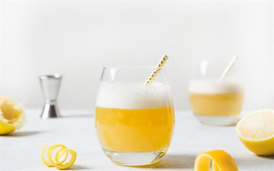 lemonade with bourbon, lemon drinks, bourbon, lemon, different drinks