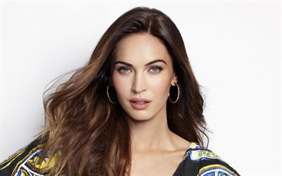 Megan Fox, American actress, portrait, photoshoot, world star, American fashion model, popular actresses