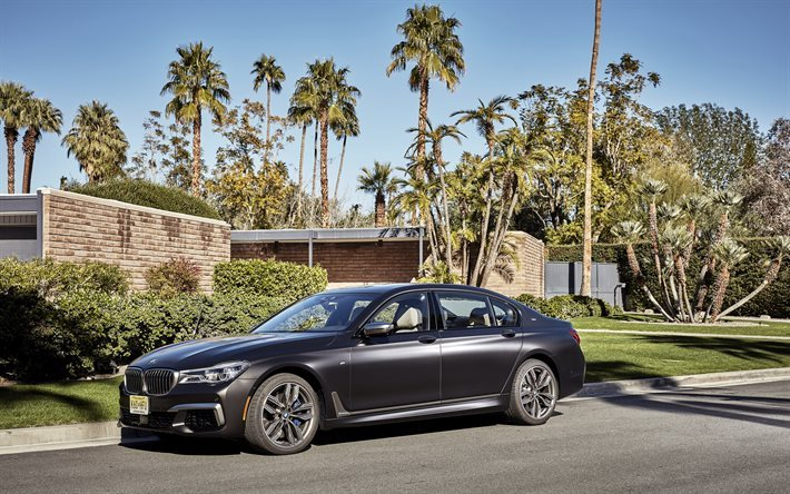 BMW 7-serie, G12, 2017 cars, m760Li, luxury cars, BMW