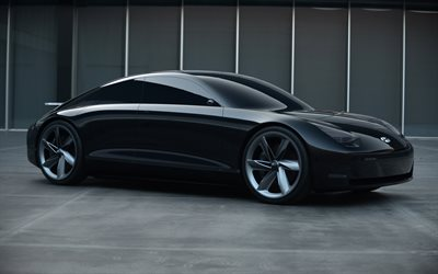 Hyundai Prophecy, 4k, parking, 2020 cars, luxury cars, 2020 Hyundai Prophecy, korean cars, Hyundai