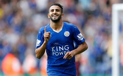 Riyad Mahrez, Leicester City, Football, Premier League