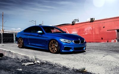 M-Sport, BMW M4, 435i, f32, tuming, stance, blue m4, BMW