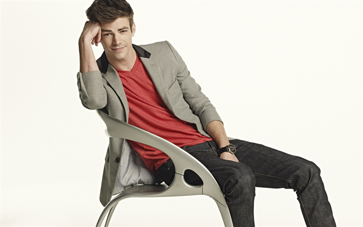 Grant Gustin 4k Photoshoot American Actor Beauty Young Actors Hollywood