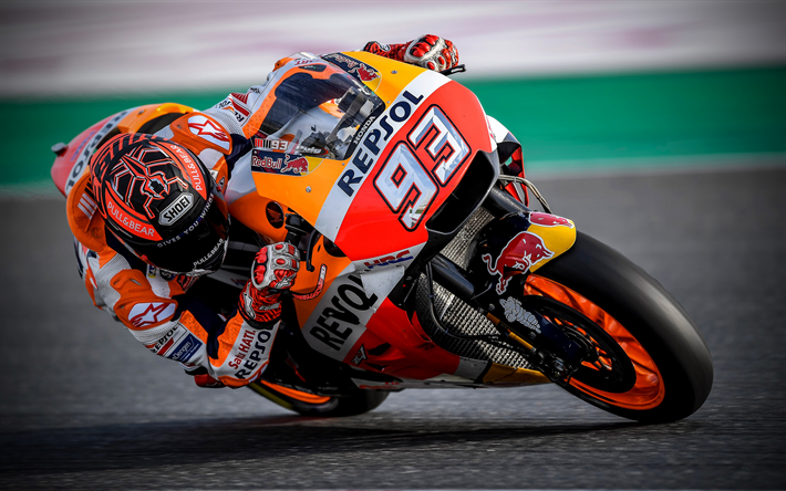 Honda Repsol Wallpaper Motorcycle: Download Wallpapers Marc Marquez, 4k, Repsol Honda Team