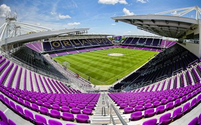 Exploria Stadium, Orlando, Florida, MLS stadiums, Orlando City SC stadium, soccer stadium, soccer lawn, Orlando City SC, USA, MLS