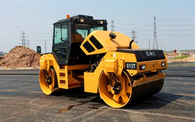 LiuGong CLG 613T, road rollers, 2021 rollers, construction machinery, special equipment, rollers, construction equipment, LiuGong, HDR