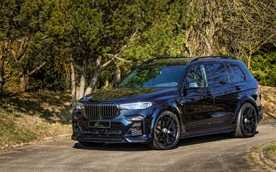 Lumma CLR X7, 4k, tuning, 2021 cars, G07, SUVs, 2021 BMW X7, luxury cars, german cars, BMW