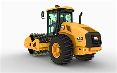Caterpillar CS12 GC, vibratory soil compactors, 2021 compactors, construction machinery, special equipment, road scraper, construction equipment, CaT CS12 GC, Caterpillar, CaT