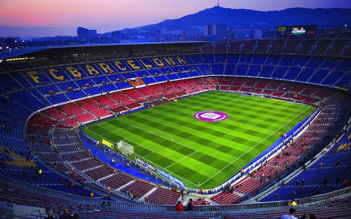 Télécharger Fonds Décran Le Camp Nou Le Stade De Barcelone